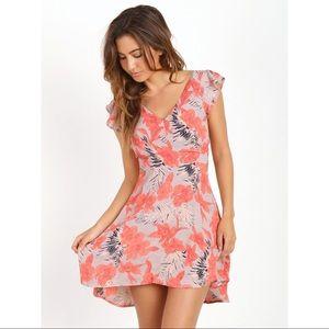 NWT For Love & Lemons Hula Dress - Size M